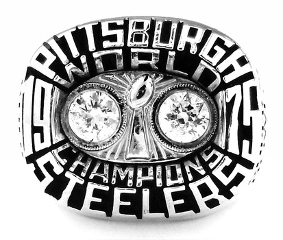 NFL Pittsburgh Steelers Super Bowl X Replica Ring Size 10