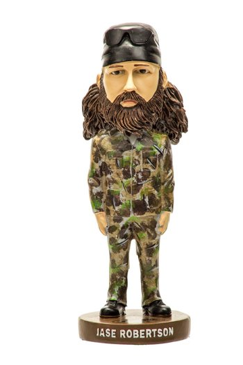 New Jase Robertson Bobble Head Doll - As Seen on Duck Dynasty