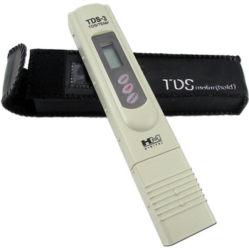 TDS-3 Handheld Meter With Carrying Case