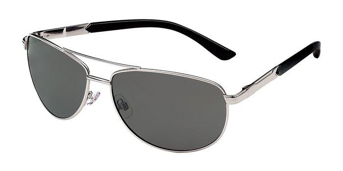 Foster Grant Men's Metal Aviator Polarized Sunglasses