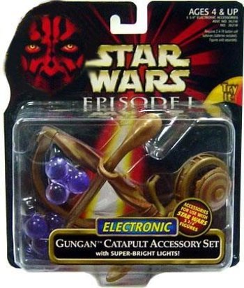 Star Wars Episode I Electronic Gungan Catapult Accessory Set