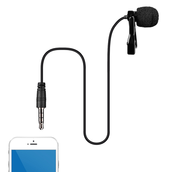 Lavalier Omni Directional Microphone for Smartphone
