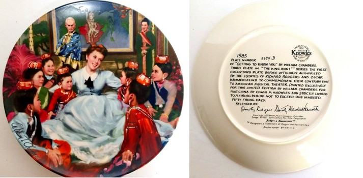 Collectable Plate By William Chambers Limited Edition