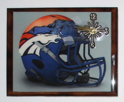 NFL Denver Broncos Wall Clock