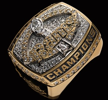 NFL St. Louis Rams 1999 Super Bowl XXXIV Championship Replica Ring Size 9