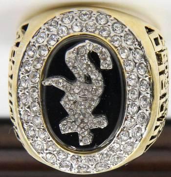 MLB Chicago White Sox 2005 World Series Replica Ring Size 10
