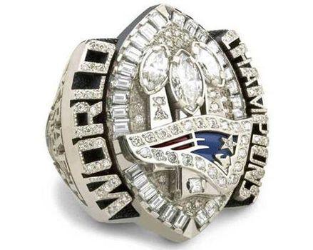 Tom Brady 2004 Super Bowl XXXIX Championship Replica Ring Size 11
