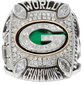 NFL Green Bay Packers 2010 Super Bowl XLV Championship Replica Ring Size 11