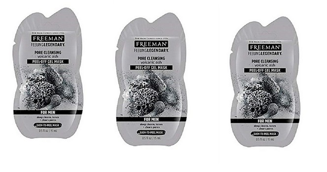 7 Pieces Freeman Facial Volcanic Ash  And Others Cleansing Peel-Off Mask