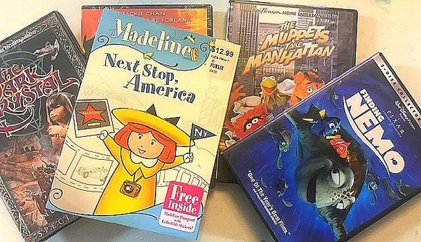 4+ DVD's To Enjoy At Home Including Disney