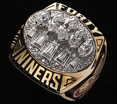 NFL San Francisco 49Ers 1994 Super Bowl XXIX Championship Replica Fan Ring Size 10