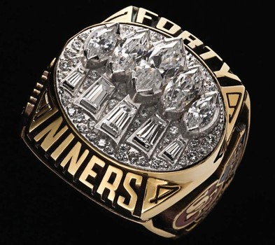 NFL San Francisco 49ers Super Bowl XXIX Championship Replica Ring Size 11