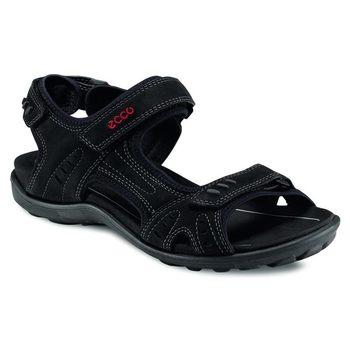 ECCO All Terrain Lite - Men - Black Fuego Nubuck Sandals Retail $215.00