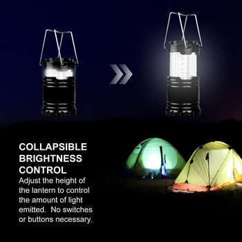 LED Light Portable Ultra Bright Lantern With USB