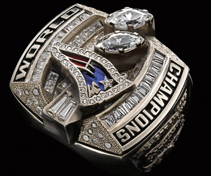 Tom Brady Patriots 2002 Super Bowl XXXVII Championship Replica Ring Size 12