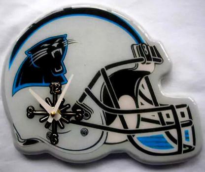 NFL Carolina Panthers Wall Clock