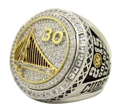 Christmas Gift Golden State Warriors 2015 Championship Replica Ring Size 11