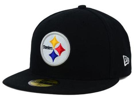 Pittsburgh Steelers Era 59fifty Fitted 7 1/2 Hat Adult Cap Game NFL On-field