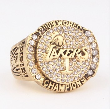 NBA LA Lakers 2009 Championship Replica Ring Size 11