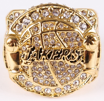 Los Angeles Lakers 2010 Championship Replica Ring Size 12