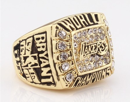 NBA Los Angeles Lakers 2000 Championship Replica Ring Size 12