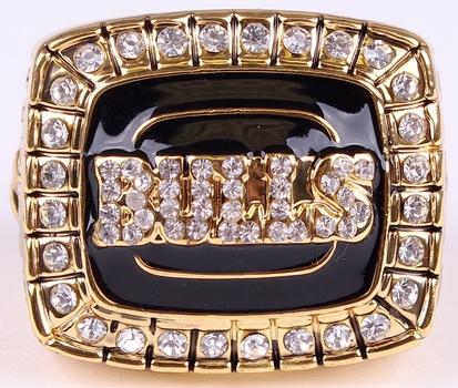 NBA Chicago Bulls 1992 Championship Replica Ring Size 11