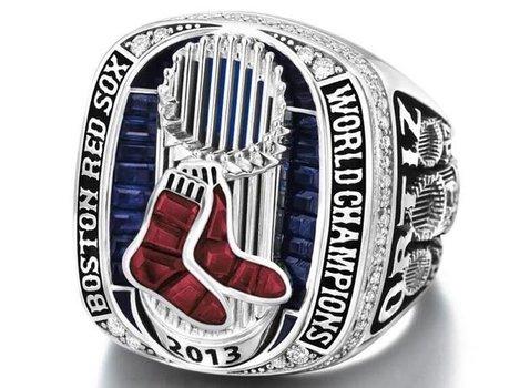 MLB Boston Red Sox 2013 Championship Replica Ring Size 1