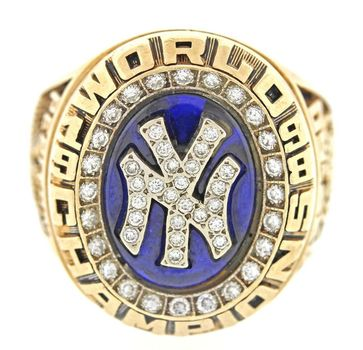 Andy Pettitte Yankees World Series 1998 Championship Replica Ring Size 12