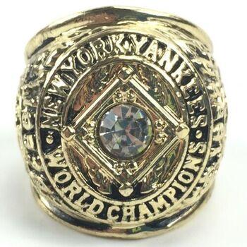 New York Yankees 1956 World Series Replica Ring Size 10