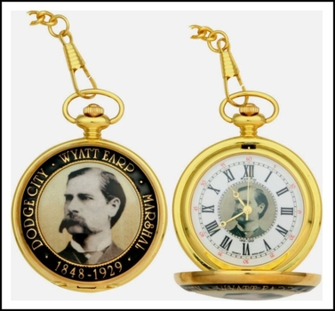 Wyatt Earp Pocket Watch