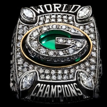 NFL Green Bay Packers XLV Super Bowl Championship Replica Ring Size 11