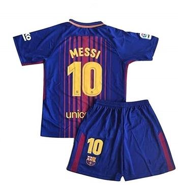 Nike FC Barcelona Lionel Messi Jersey & Short Set Size Large