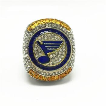 New Stanley Cup 2019 NHL St. Louis Blues Ring Championship Ring Size 11