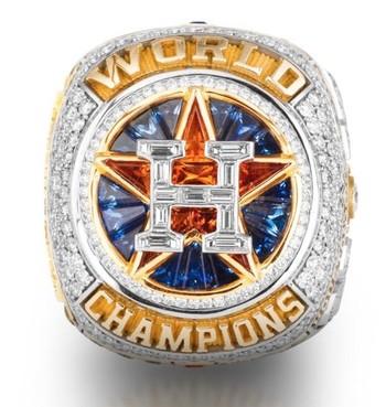 MLB Houston Astros 2017 World Series Championship Replica Ring Size 10