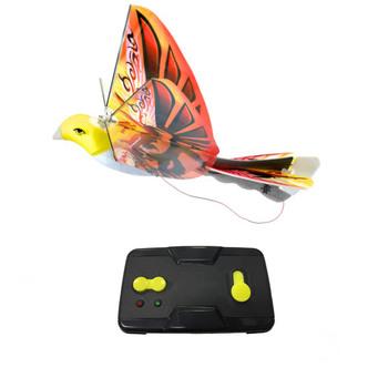 eBird Orange Phoenix Flying Bird 2016 Creative Child Preferred Choice Award Winning Flying RC Toy - Remote Control Bionic Bird