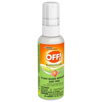2 pieces Of OFF! Botanicals Plant-Based Insect Repellent - 4 fl oz Natural For Your Body