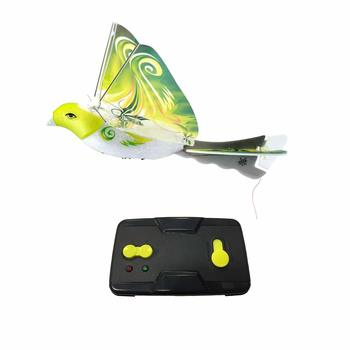 eBird Green Parrot- 2016 Creative Child Preferred Choice Award Winning Flying RC Toy - Remote Control Bionic Bird