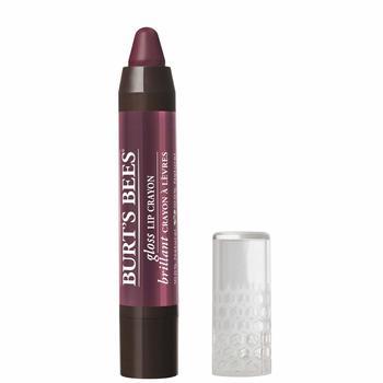 New Burt's Bees 100% Natural Gloss Lip Crayon, Bordeaux Vines, 2.83g