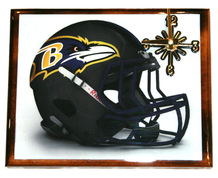 One Of AKind NFL Wall Clock Baltimore Ravens Extreme Exclusive Collection