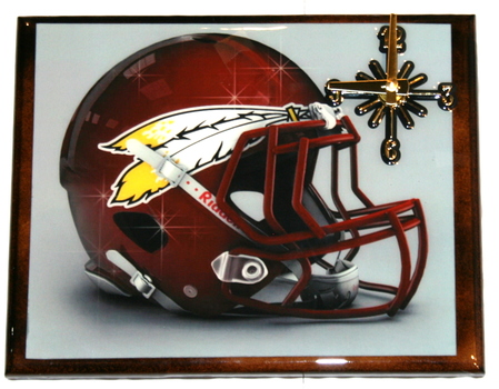 One Of A Kind NFL Wall Clock Washington Redskins Extreme Exclusive Collection