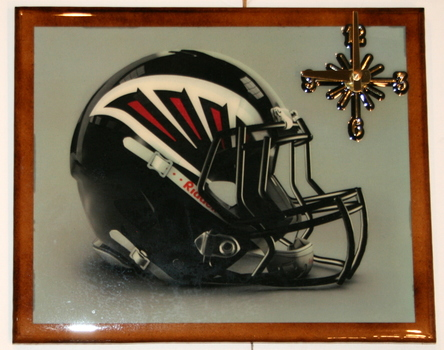 One Of A Kind NFL Wall Clock Atlanta Falcons Extreme Exclusive Collection