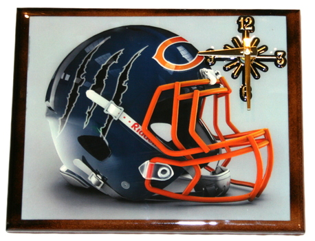 One Of A Kind NFL Wall Clock Chicago Bears Extreme Exclusive Collection