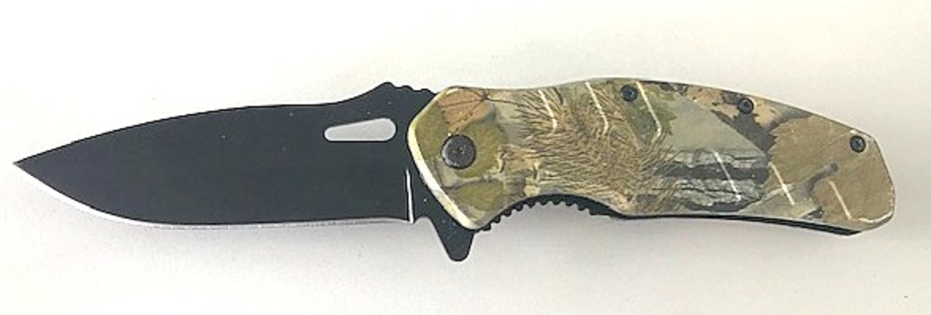 Military Camouflage Knife