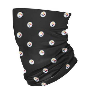 New NFL Pittsburgh Steelers Fan Neck Gaiter
