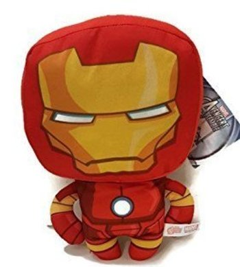 "Iron man 6"" Plush Toy By Good Stuff"