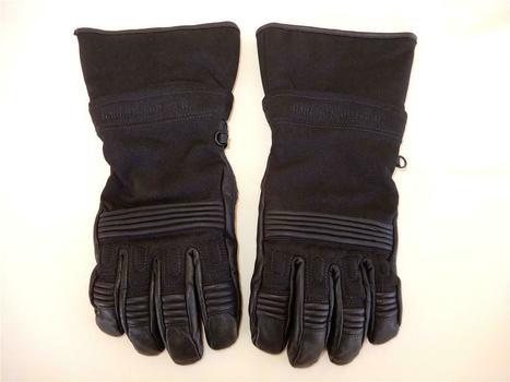 Harley Davidson Cuff Windproof Gauntlet Gloves Size Large