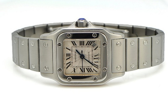 FRENCH CARTIER Watch With Sapphire, Retail $7,500.00 For Women