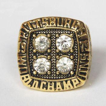 Terry Bradshaw Pittsburgh Steelers 1979 Super Bowl XIV Championship Replica Ring Size 10