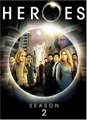 Heroes Season 2 on DVD (4 Discs)