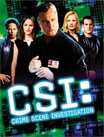 CSI - The Complete Second Season on DVD